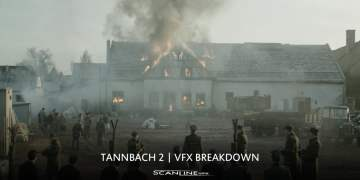 Tannbach 2 VFX Breakdown by Scanline VFX