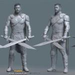 Thor Ragnarok by Vladimir Minguillo