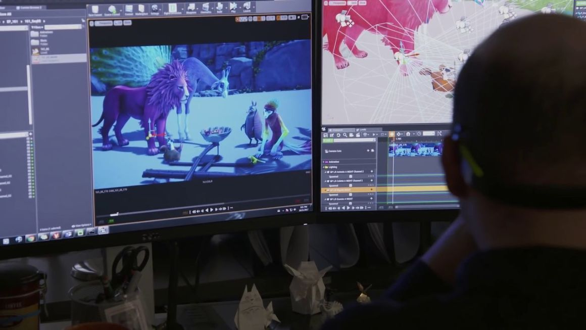 Zafari: Tapping into Unreal Engine for Episodic Animation