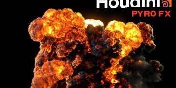 Houdini 17 Pyro fx explosion test 0