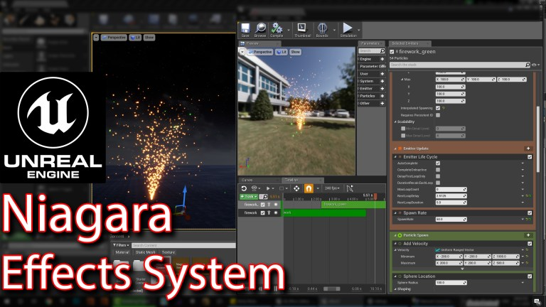 Niagara Effect system in Unreal engine | Part 01 | CGHOW