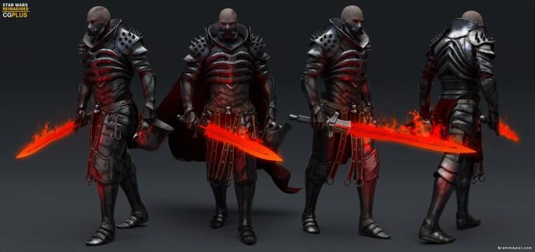 Lord Vader (wild hunt) by Brahim azizi
