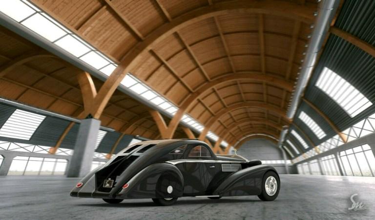 1925 Rolls Royce Round Door
