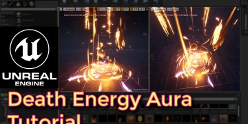 Unreal Engine Death Energy Aura Effect Tutorial