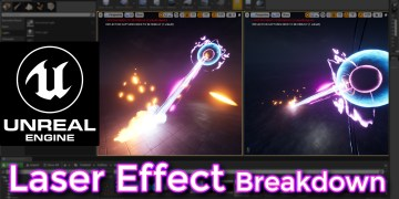 Unreal Engine Laser Effect Breakdown