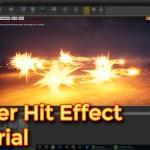 Unreal Engine Power Hit Effect Tutorials
