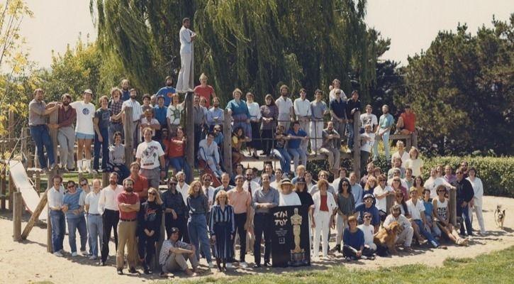 THE ORIGINAL PIXAR TEAM IN 1989 - PIXAR