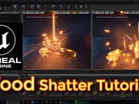 Unreal Engine Wood Shatter Tutorial