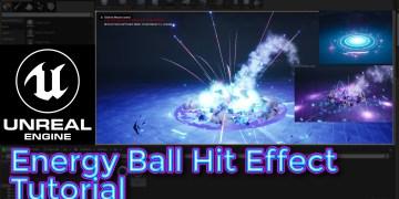 Unreal Engine Energy Ball Hit Effect Tutorial