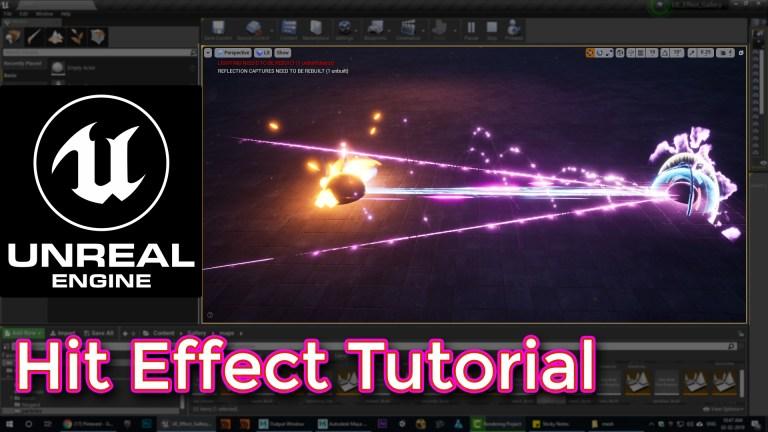 Unreal Engine Hit Effect Tutorial