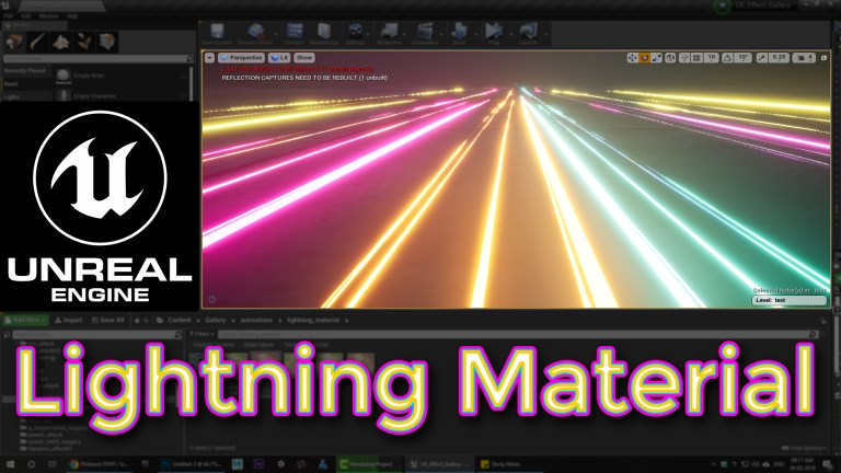 Unreal Engine Lightning Material Tutorial