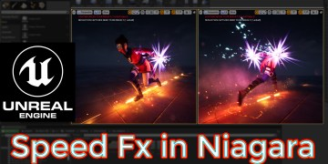 Unreal Engine Speed Fx Niagara Tutorial