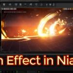 Unreal Engine Slash Effect in Niagara