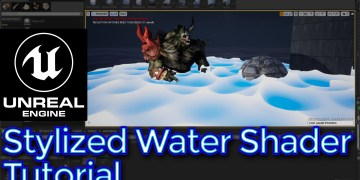 Unreal Engine Stylized Water Shader Tutorial