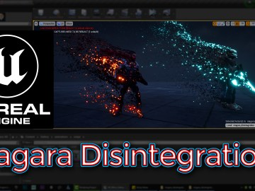 Unreal Engine Niagara Disintegration Tutorial