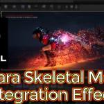 Unreal Engine Niagara Skeletal Mesh Disintegration Effect Tutorial