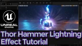 Unreal Engine Thor Hammer Lightning Effect Tutorial