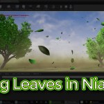 Unreal Engine Falling Leaves in Niagara Tutorial