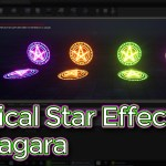 Unreal Engine Magical Star Effect in Niagara