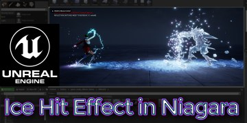 Ice Hit Effect | Unreal Engine Niagara Tutorial