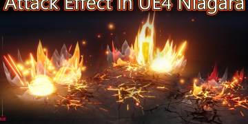 Attack Effect in Unreal Engine Niagara Tutorial