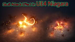 Skull Attack Effect in Unreal Engine Niagara Tutorial