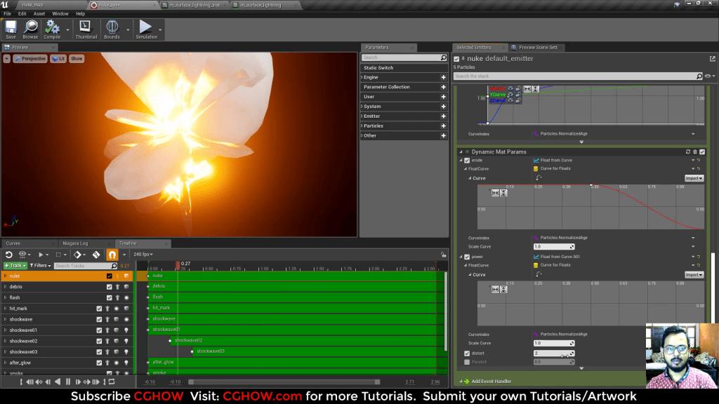 Unreal Engine Niagara Tutorial | Nuke Explosion Effect Tutorial