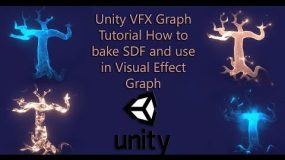 Unity VFX Graph Tutorial How to bake SDF and use in Visual Effect Graph