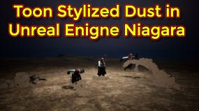Toon Stylized Dust Effect | Fortnite Stylized Dust | Unreal Engine Niagara Tutorial