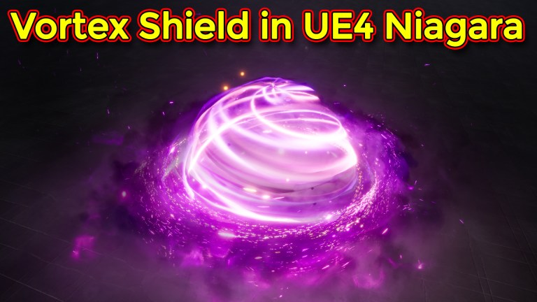 Unreal Engine Niagara Tutorial | Vortex Shield Effect