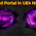 Ground Portal Effect | Unreal Egnine Niagara tutorial