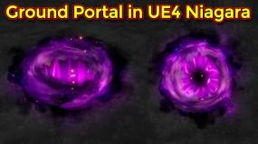 Ground Portal Effect | Unreal Egnine Niagara tutorial