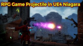 RPG Game Projectile Effect Part 2 | Unreal Engine Niagara Tutorial