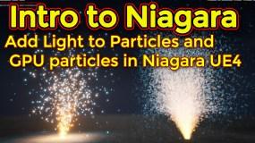 Intro to Niagara | Creating GPU Sprite Particles | Adding Lights | Unreal Engine Niagara Tutorial