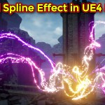 Magical Spline Effect | Unreal Engine Niagara Tutorial