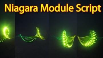 Niagara Module Script | Unreal Engine Niagara Tutorial