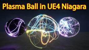 Plasma Ball | Unreal Engine Niagara Tutorial