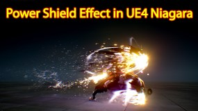 Power Shield Effect | Unreal Engine Niagara Tutorial