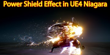 Power Shield Effect | Unreal Engine Niagara Tutorial