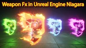 Weapon Fx | Unreal Engine Niagara Tutorials | UE4 Niagara Weapon Fx