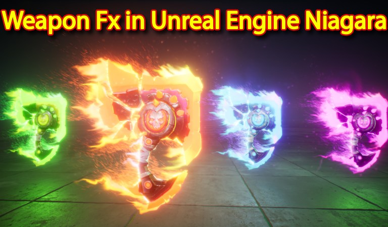 Weapon Fx   Unreal Engine Niagara Tutorials   UE4 Niagara Weapon Fx