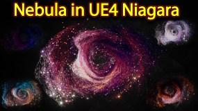 Nebula Effect | Unreal Engine Niagara Tutorials | UE4 Niagara Nebula