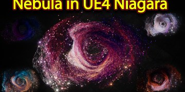 Nebula Effect | Unreal Engine Niagara Tutorials | UE4 Niagara Nebula
