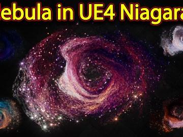 Nebula Effect   Unreal Engine Niagara Tutorials   UE4 Niagara Nebula