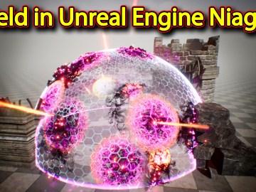 Shield Effect   Unreal Engine Niagara Tutorials   UE4 Niagara Shield