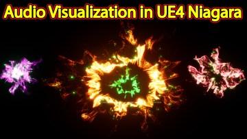 Audio Visualization   Files on Patreon   Unreal Engine Niagara Tutorials   UE4 Niagara Audio Spectrum