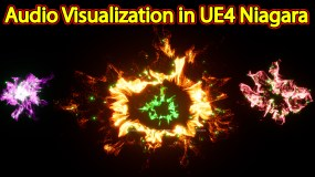 Audio Visualization | Files on Patreon | Unreal Engine Niagara Tutorials | UE4 Niagara Audio Spectrum