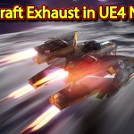 Spacecraft Exhaust Effect | Unreal Engine Niagara Tutorials | UE4 Niagara Spacecraft Exhaust