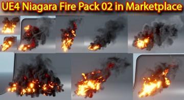 UE4 Niagara Fire Pack 02 in Marketplace