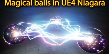Magical Ball Effect | Unreal Engine Niagara Tutorials | UE4 Niagara Electric Ball